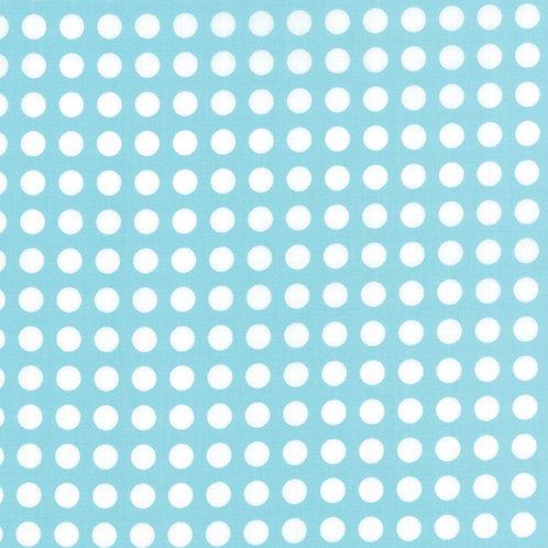 Gooseberry 5013 16 Aqua White Dots Moda Lella Boutique