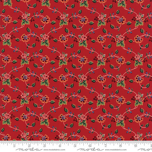Provencal 21037 13 Red Floral Moda American Jane