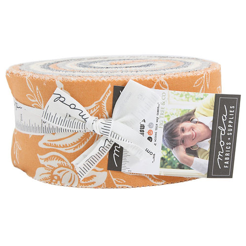 ALL HALLOW'S EVE Moda FIG TREE Jelly Roll