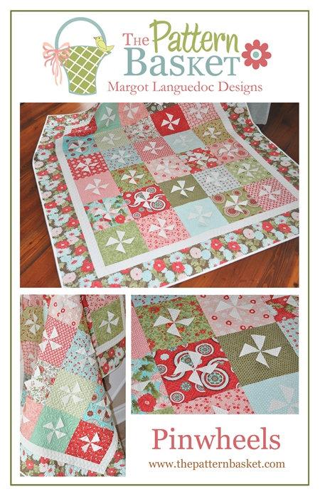 Pattern Basket PINWHEELS Layer Cake Pattern