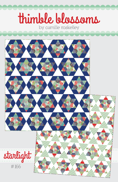 Thimble Blossoms STARLIGHT Jelly Roll Pattern