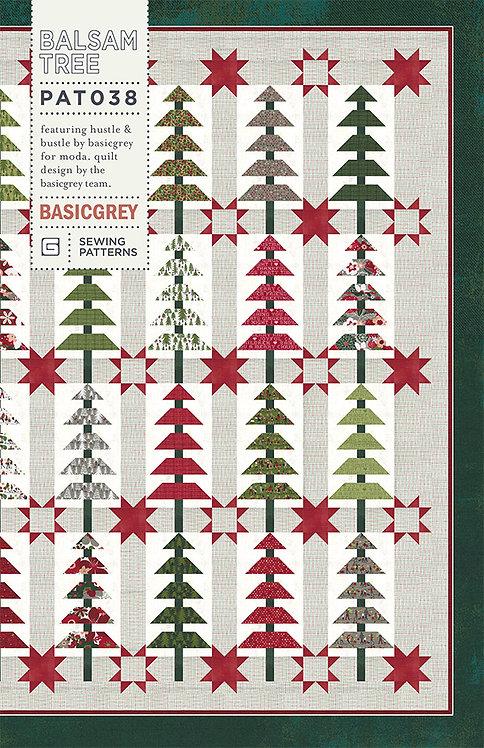 Basic Grey BALSAM TREE Jelly Roll Christmas Pattern