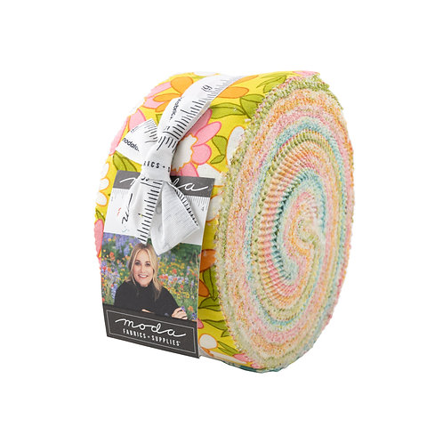 A Blooming Bunch Moda Maureen McCormick Jelly Roll