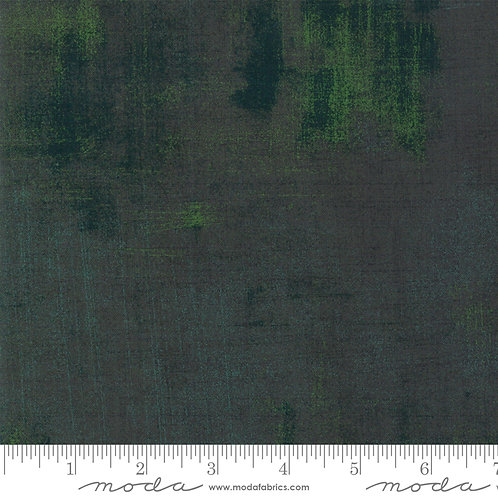 Kringle and Claus 30150 512 Pine Green GRUNGE Moda Basic Grey