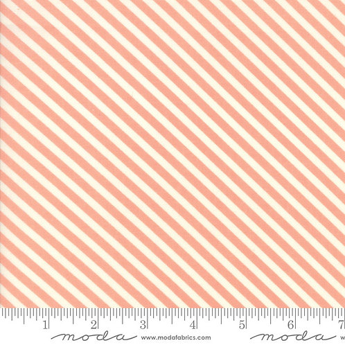 Handmade 55145 13 Pink Diagonal Stripe Moda Bonnie & Camille