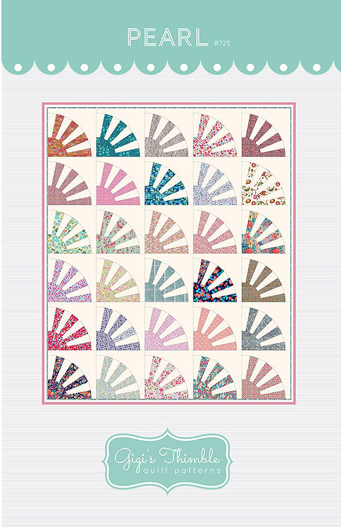 Gigi's Thimble PEARL Fat Quarter Pattern