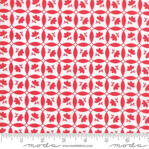 Feed Sacks Red Rover 23316 11 Red Floral