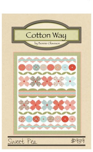 Cotton Way SWEET PEA Layer Cake Pattern