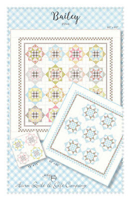Brenda Riddle BAILEY Fat Eighth Pattern