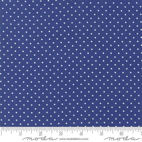 CATALINA 20376 12 Navy Blue Polka Dots Moda FIG TREE Floral