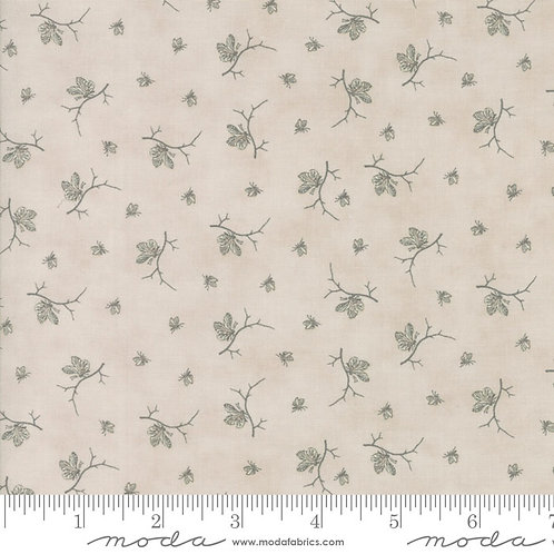 Quill 44157 11 Beige Floral Tonal Moda 3 Sisters