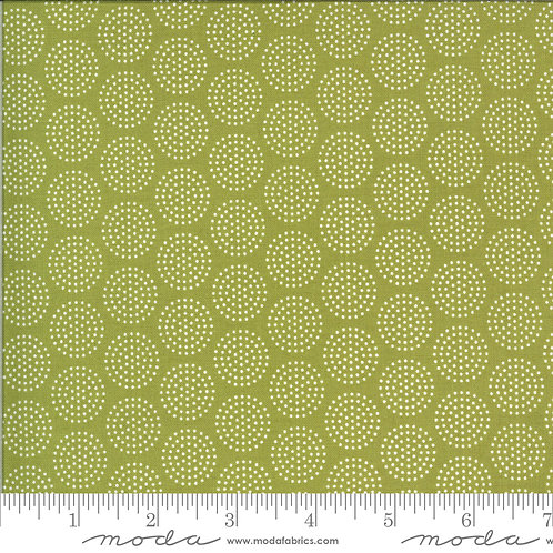 Animal Crackers 5806 12 Lime Green Dots Moda Sweetwater