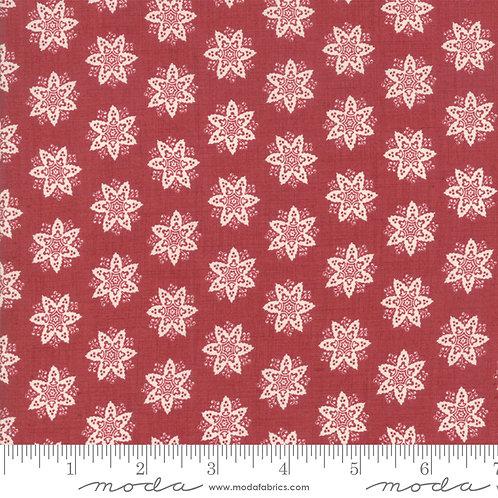 Fleur De Noel 13844 18 Red Rouge Moda French General Stars