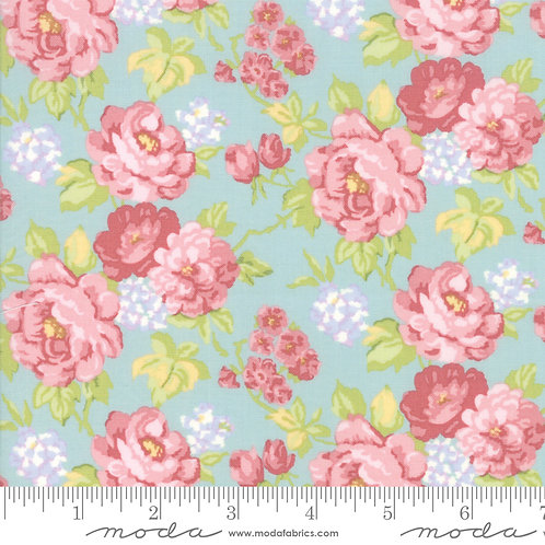 Bramble Cottage 18690 13 Pink Floral B Riddle Moda