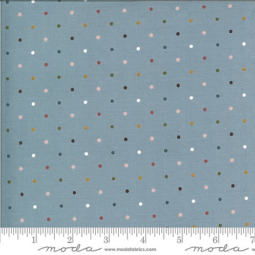 Folktale 5124 17 Blue Polka Dot Moda Lella Boutique