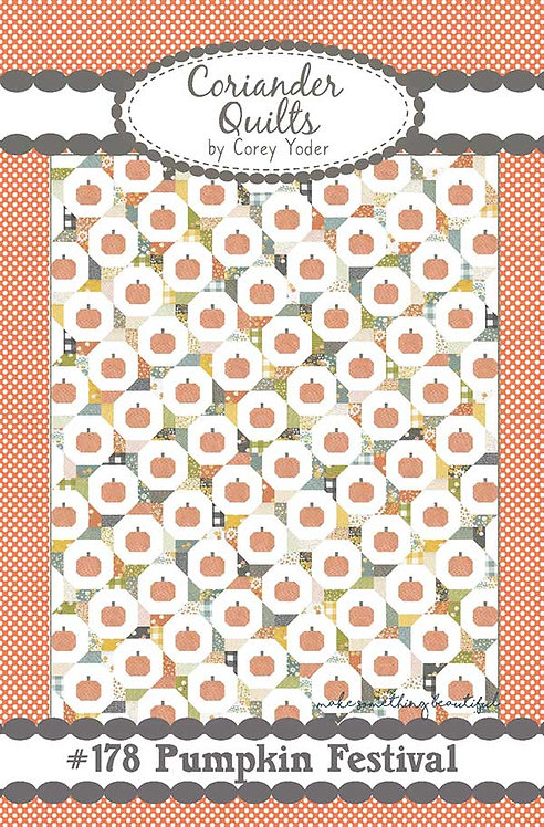 Coriander PUMPKIN FESTIVAL Jelly Roll Pattern