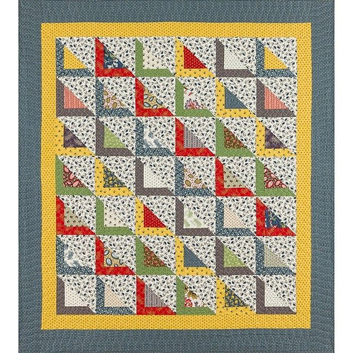 Legacy Patterns CARRIAGE QUILT Charm Pattern