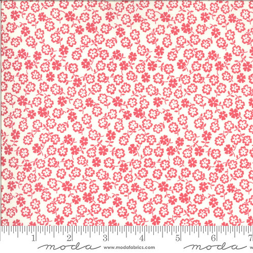 Blooming Bunch 40047 31 Red Floral Moda Maureen McCormick