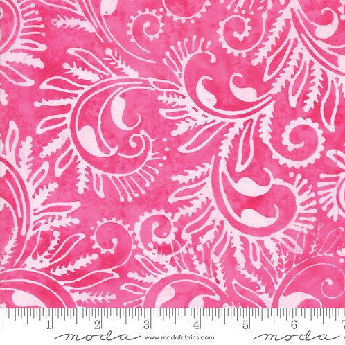 Bahama Batiks 4352 28 Pink Floral Moda