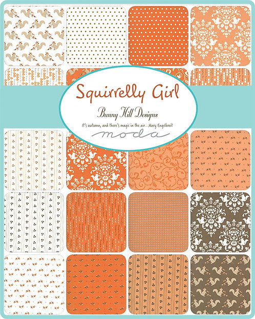 Squirrelly Girl Moda Bunny Hill Charm Pack