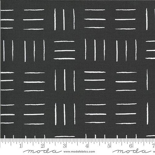 Zoology 48304 18 White on Black Stripes Moda Gingiber