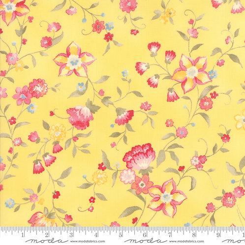 Nanette 33163 14 Yellow Pink Floral Moda Chez Moi