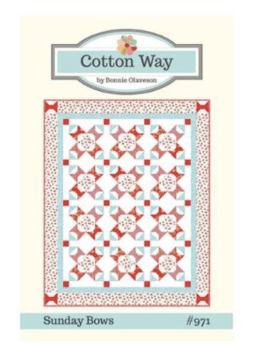 Cotton Way SUNDAY BOWS Pattern