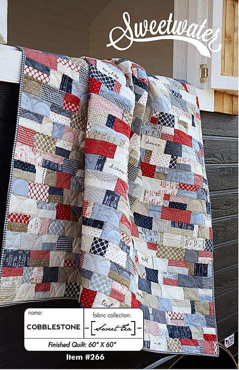 Sweetwater COBBLESTONE Jelly Roll Quilt Pattern