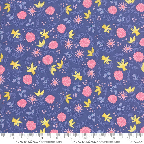Once Upon a Time 20594 20 Purple Pink Floral