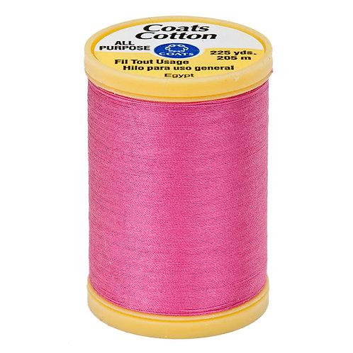 Coats & Clark Thread HOT PINK 3 spools 30wt