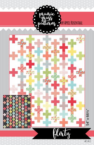 Priarie Grass FLIRTY Jelly Roll Pattern