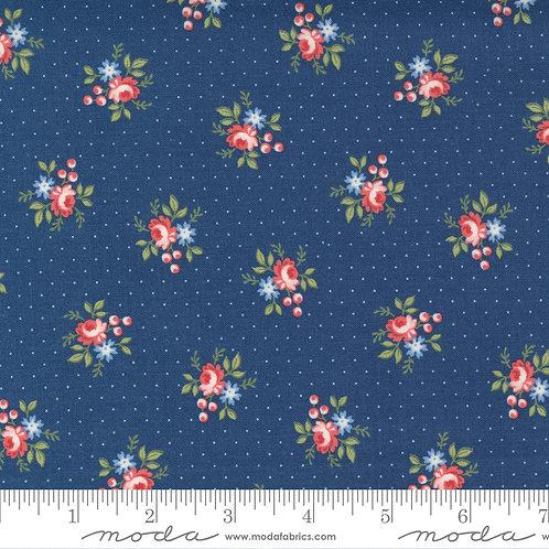 Belle Isle 14925 15  Navy Floral Minick & Simpson