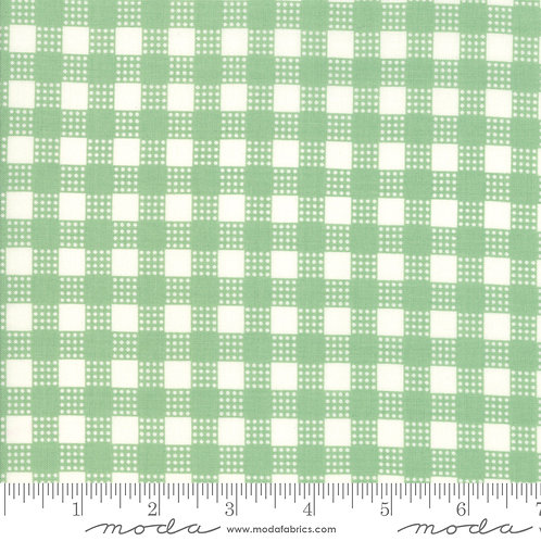 Deer Christmas 31166 14 Mint Check Moda Urban Chicks