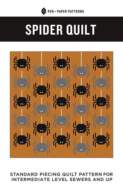 Pen & Paper SPIDER Fat Quarter Pattern
