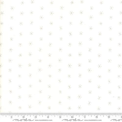 Merriment 48275 11 White Snowflakes Moda GINGIBER