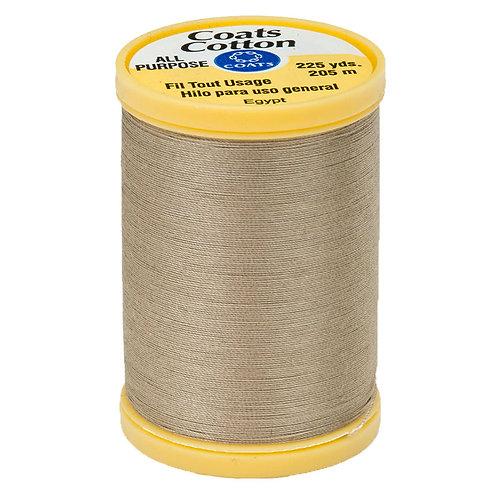 Coats & Clark Thread KHAKI 3 spools 30wt