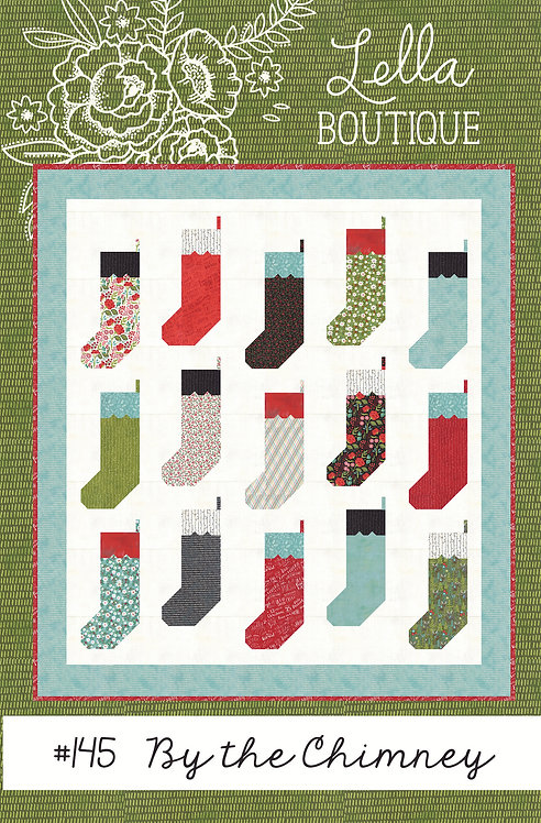 Lella Boutique BY THE CHIMNEY Fat Eighth Pattern