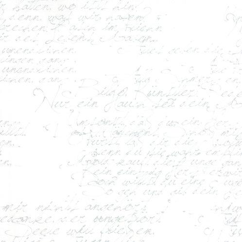 Modern Background Paper 1580 12 White Gray Script