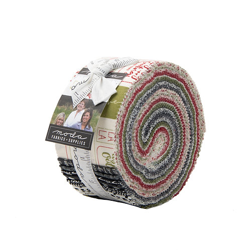 The Christmas Card Moda Sweetwater Jelly Roll