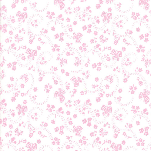 Sunday Picnic 20677 23 White Pink Moda Stacy Iest Hsu