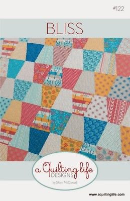 A Quilting Life BLISS Fat Eighth Pattern