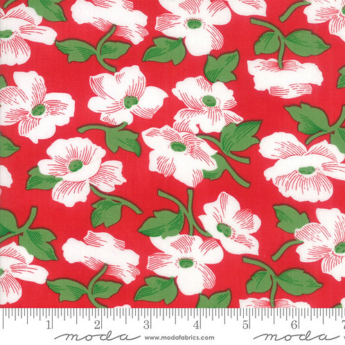 Feed Sacks Red Rover 23312 14 Red Floral Moda Linzee McCray