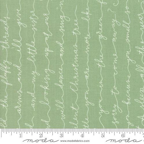 Little Tree 5093 12 Green Text Script Moda Lella Boutique
