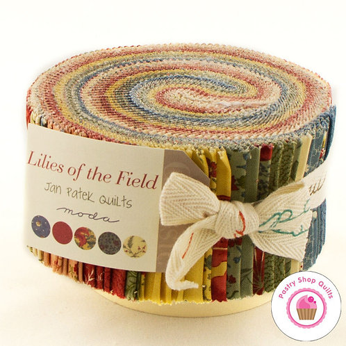 Lilies of the Field Moda Jelly Roll