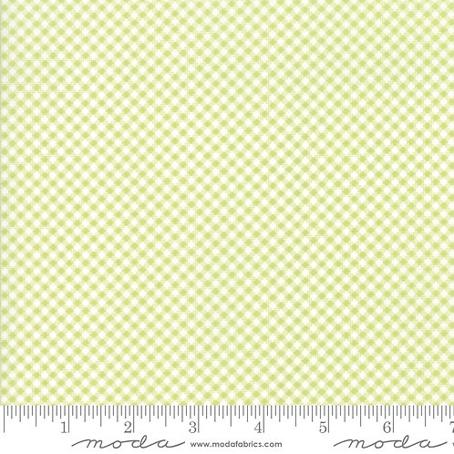 CATALINA 20375 16 Lime Green Check Moda FIG TREE Floral