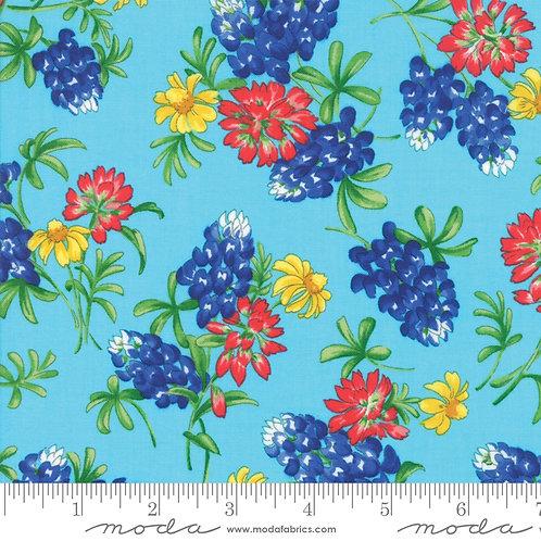 Fields of Blue 33452 15 Bluebonnets Moda