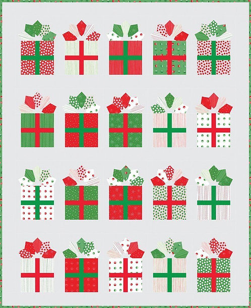 Me & My Sister GIFT WRAP Fat EIghth Pattern