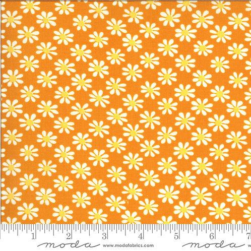 Blooming Bunch 40043 13 Orange Floral Moda Maureen McCormick