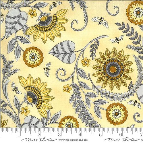 Bee Grateful 19961 12 Yellow Floral Moda Deb Strain