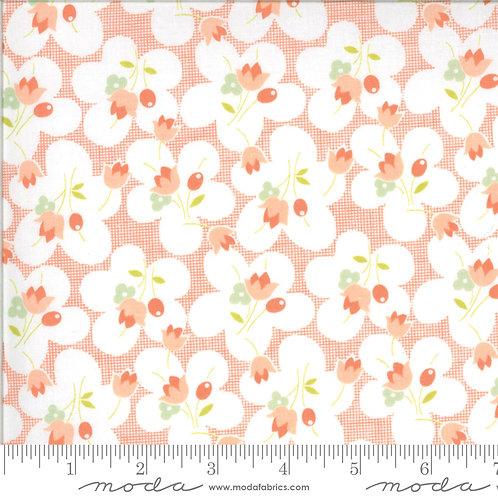 CHANTILLY 20342 25 Coral Orange Moda FIG TREE Floral